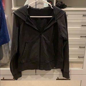 LuluLemon Black Sweatshirt hoodie Zip